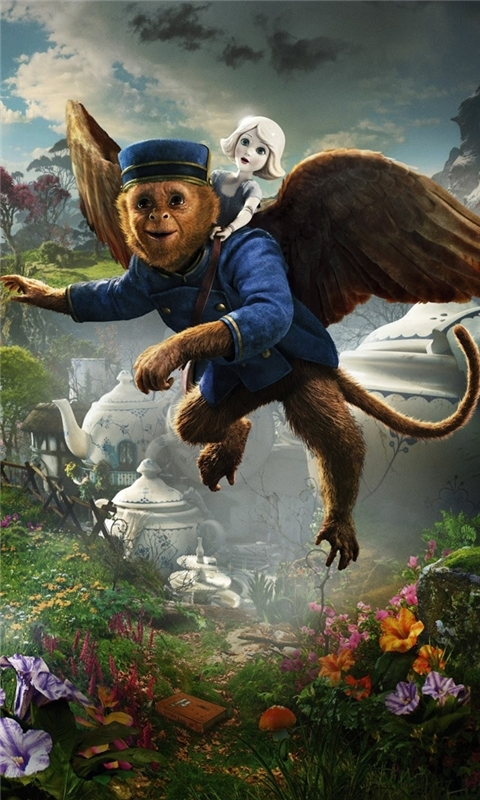Flying Monkey Oz The Great and Powerful Windows Phone Wallpaper