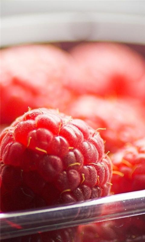Raspberries Windows Phone Wallpaper