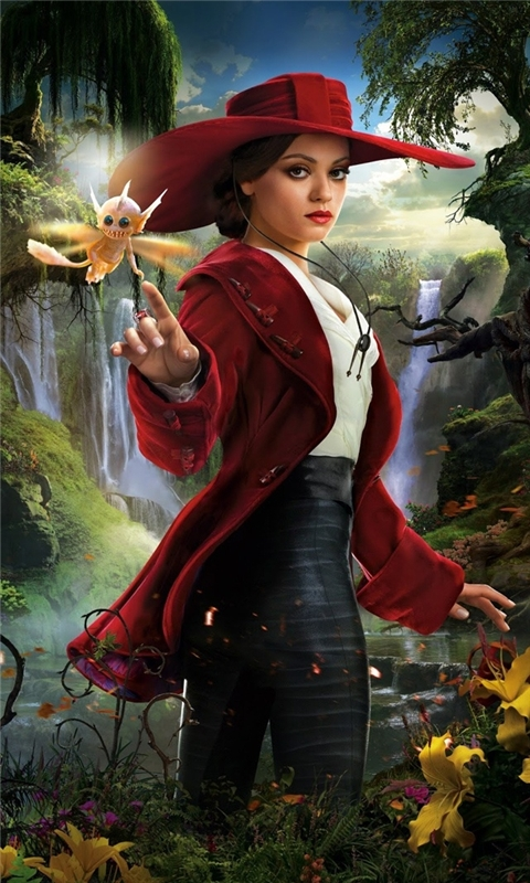 Mila Kunis Oz The Great and Powerful Windows Phone Wallpaper