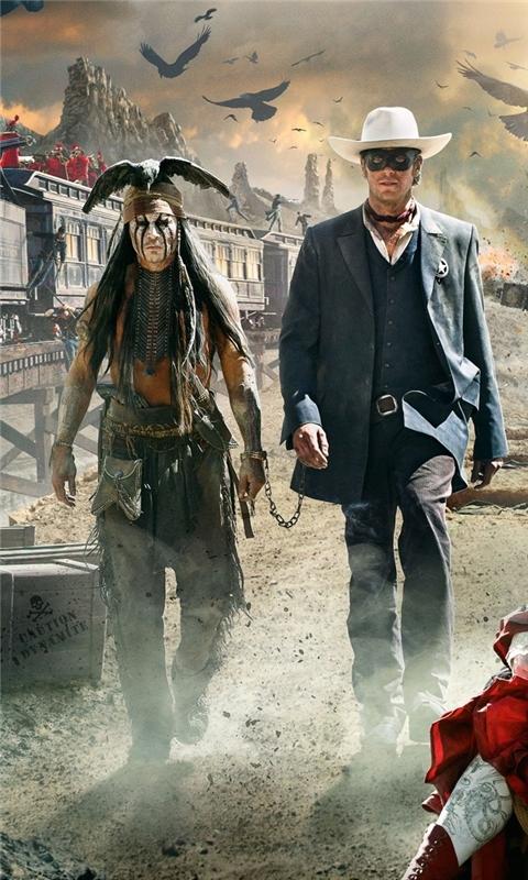 2013 Movie The Lone Ranger Windows Phone Wallpaper