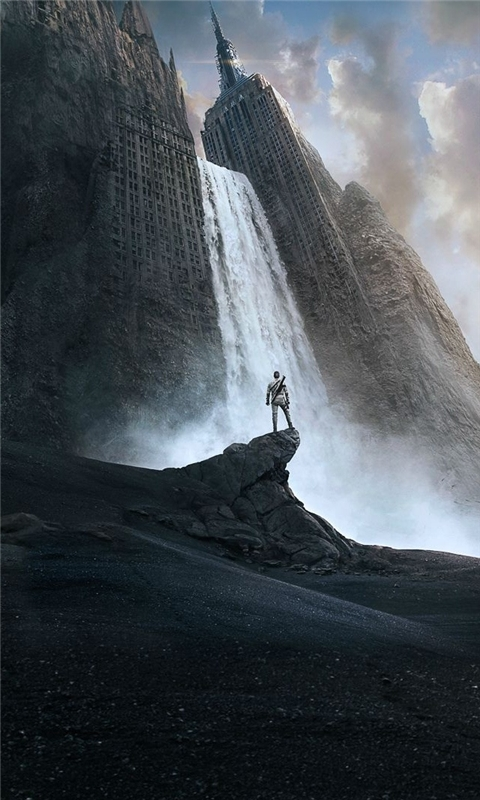 Tom Cruise Oblivion Movie Windows Phone Wallpaper