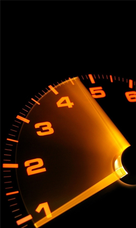 Car Speedometer Windows Phone Wallpaper