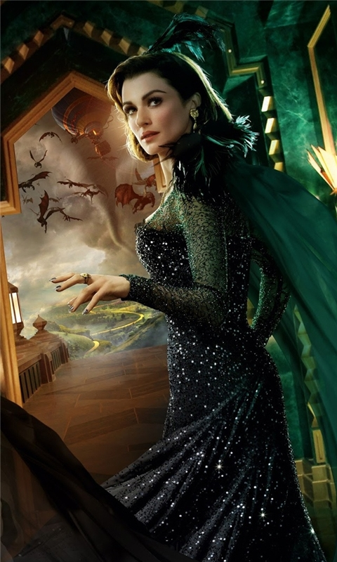 Rachel Weisz Oz The Great and Powerful Windows Phone Wallpaper