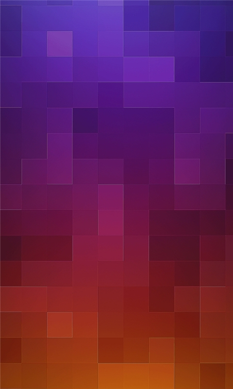 Purple to Orange Grid Windows Phone Wallpaper