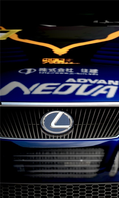Lexus Racing Windows Phone Wallpaper