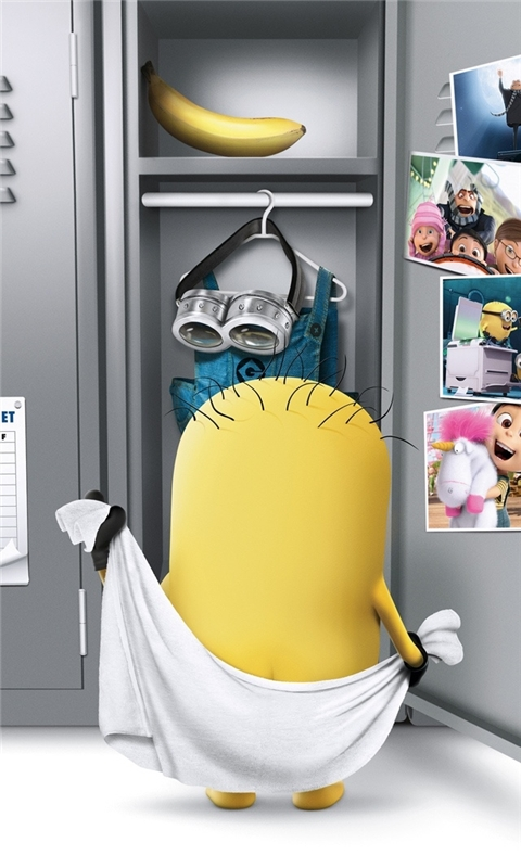 Despicable Me 2 Movie Windows Phone Wallpaper