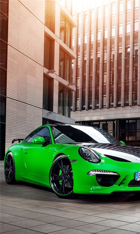 2013 Porsche 911 Carrera 4S Windows Phone Wallpaper