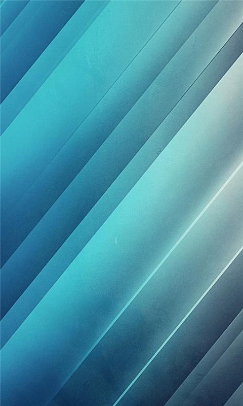 Shining Blue Lines Windows Phone Wallpaper