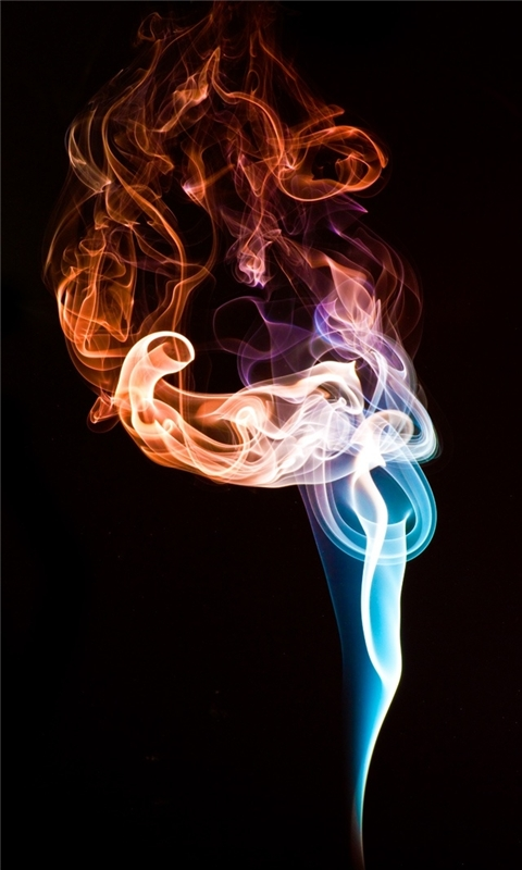 Hot Smoke Windows Phone Wallpaper