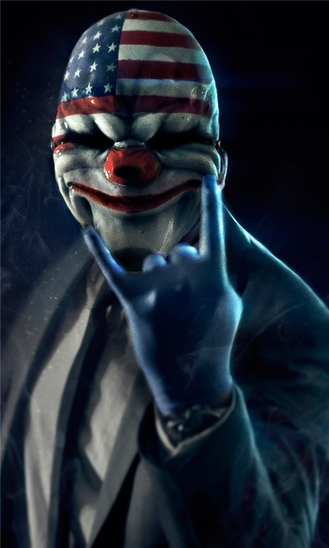 Payday 2 Windows Phone Wallpaper