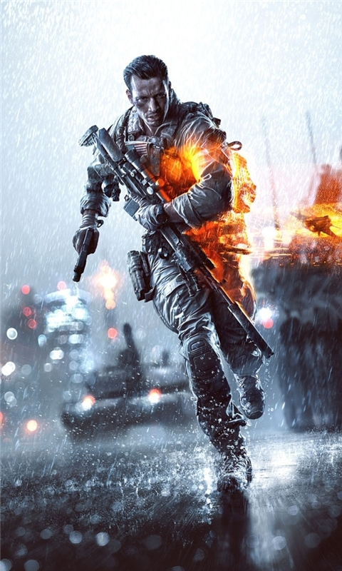 Battlefield 4 Windows Phone Wallpaper