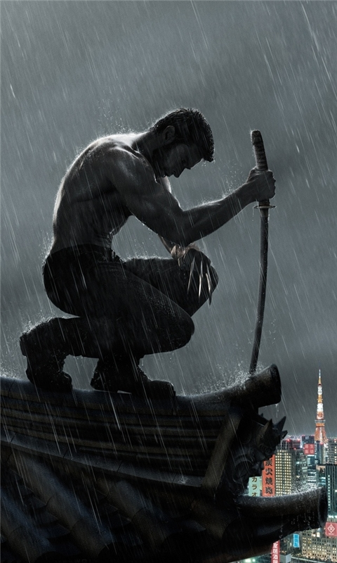 The Wolverine 2013 Windows Phone Wallpaper