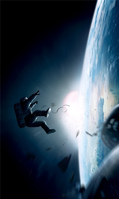 Gravity Movie Windows Phone Wallpaper