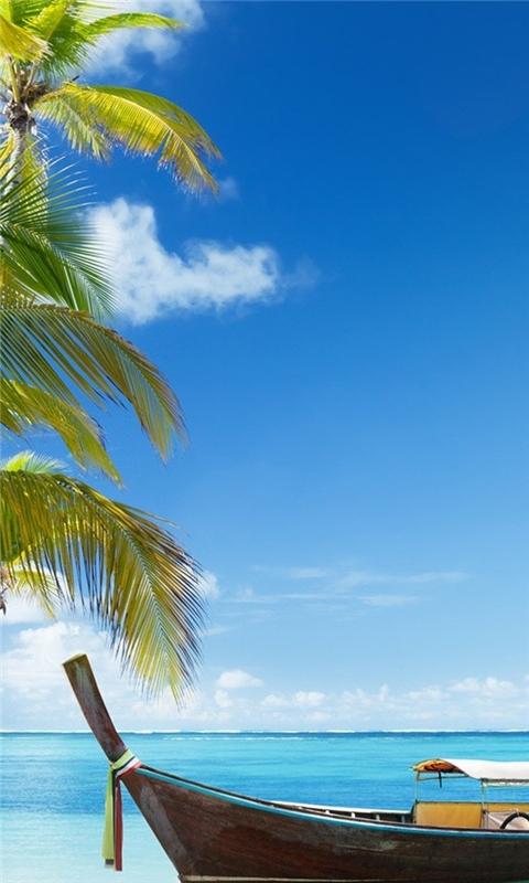Vacation Paradise Windows Phone Wallpaper