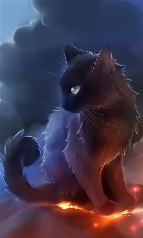 Warrior Cat Windows Phone Wallpaper