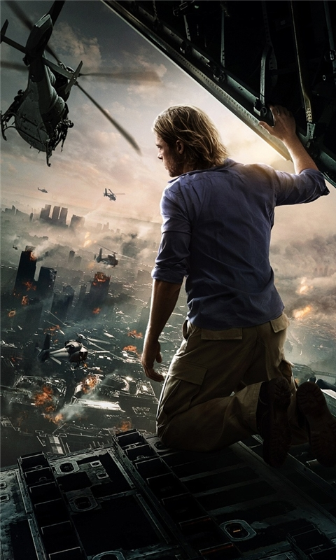 World War Z Movie Windows Phone Wallpaper