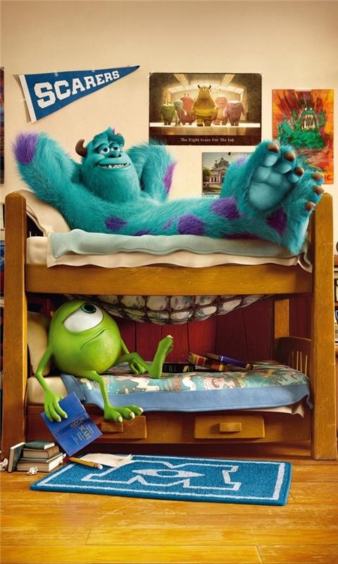 Pixar Monsters University 2013 Windows Phone Wallpaper